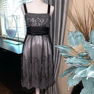 R&M Richards black cocktail dress